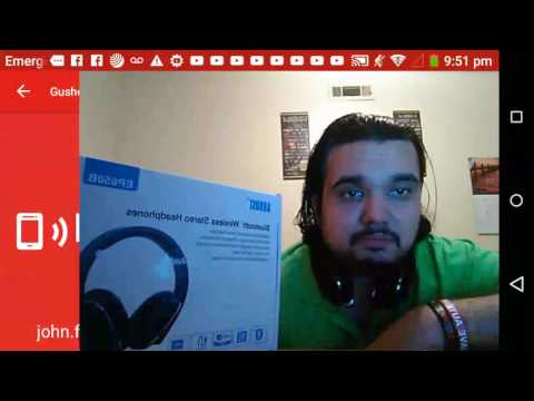 Live: Unboxing/Review August EP650 Bluetooth Wireless Headphones Q&A Chat