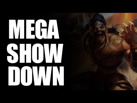 League of Legends : Mega Showdown (Dunkey)