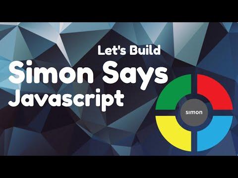 How To Program Simon Game: Javascript Part 1