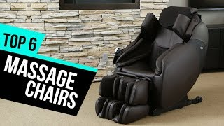 6 Best Massage Chairs 2018 Reviews