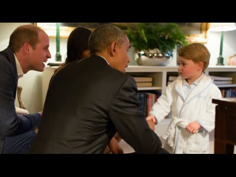 Thumbnail: Obama Meets Prince George for First Time