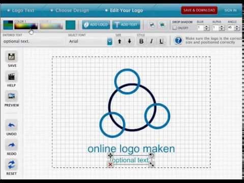Online logo maken zelf logo maken youtube for Interieur ontwerpen online gratis
