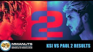 KSI vs Logan Paul 2 Results | MMANUTS MMA Podcast / Видео