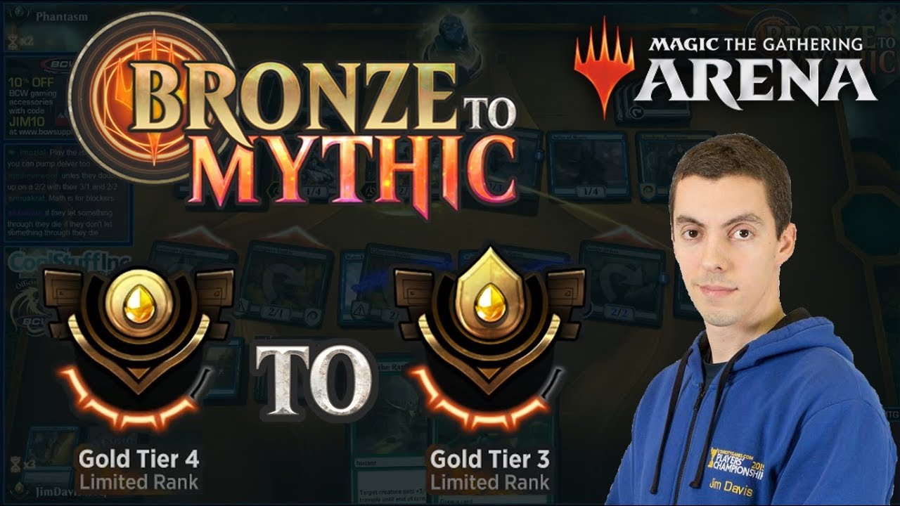 MTG Arena: Limited Bronze To Mythic - Episode Five - Gold Tier 4 to Gold  Tier 3