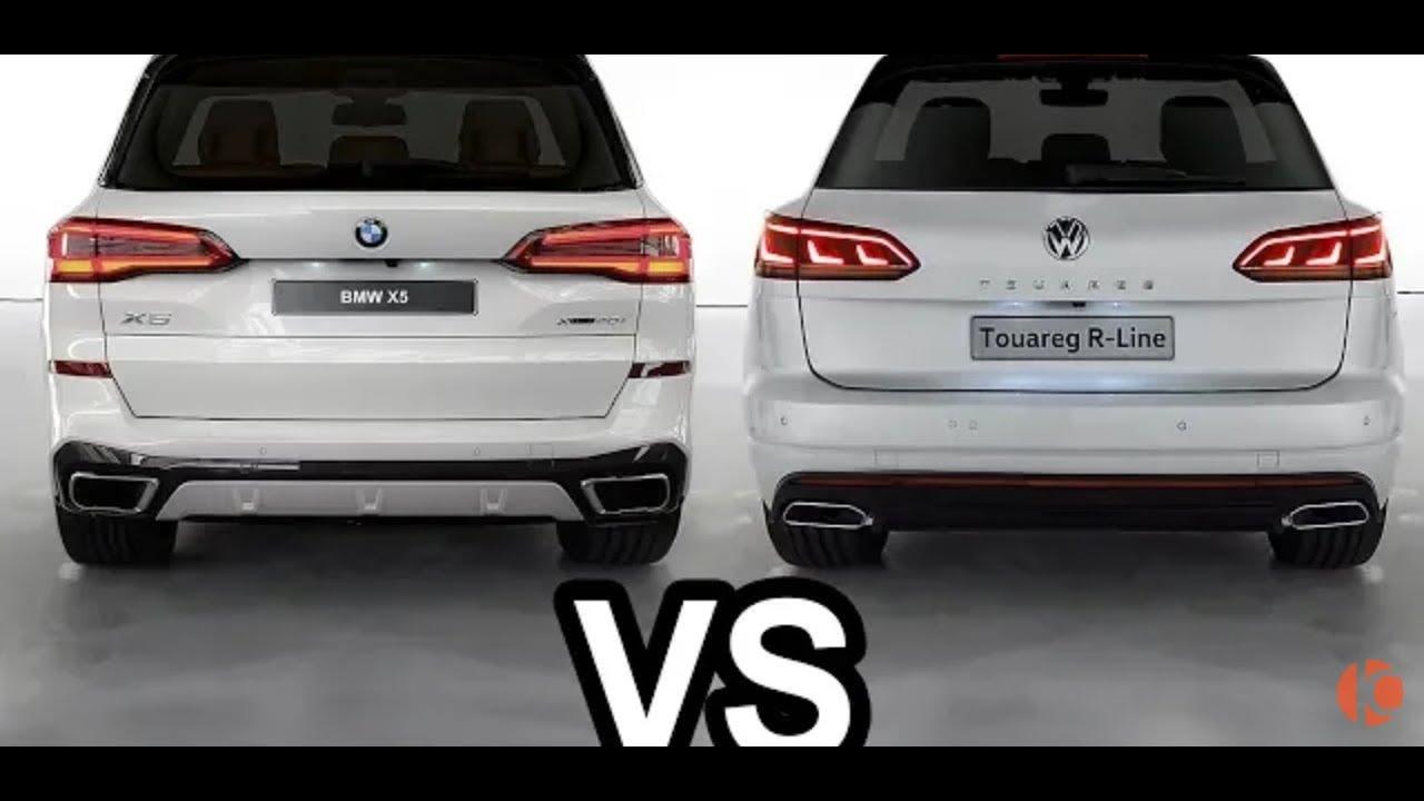 2019 volkswagen touareg vs bmw x5 comparison and offroad test