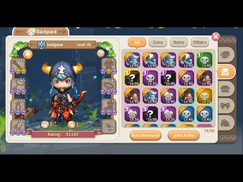 Lumia Saga Lvl 49 Max Level Reviews Tips For Lvl 59 By Icexgame
