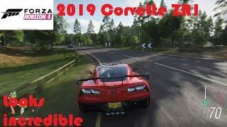 Forza Horizon 4-2019 Chevrolet Corvette ZR1 Gameplay