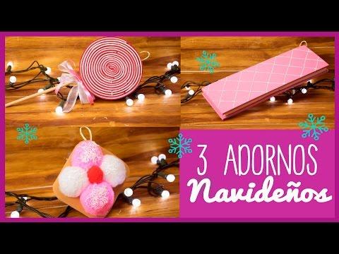 Paletas de caramelo de foamy piruletas facilisimo - Adornos navidenos caseros para el arbol ...