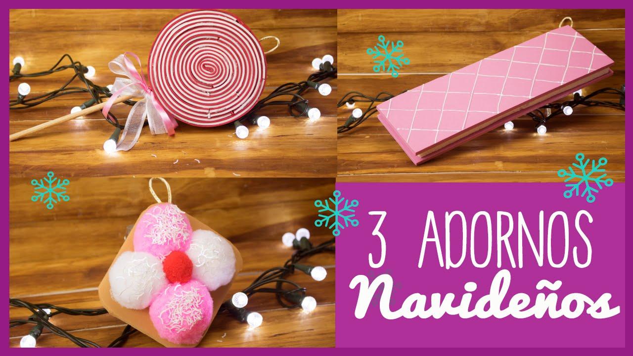 adornos navideos para el arbol ideas decora tu rbol de navidad con dulces catwalk youtube