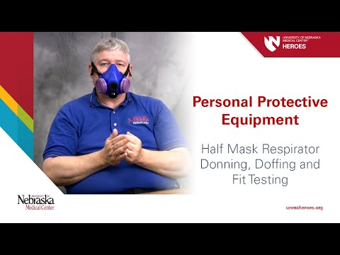 half-mask-respirator-i:-donning,-doffing-and-fit-testing