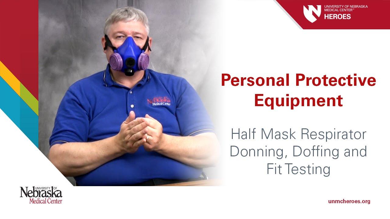 respirator mask fit test