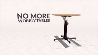 Fix A Wobbly Table (without Maths)
