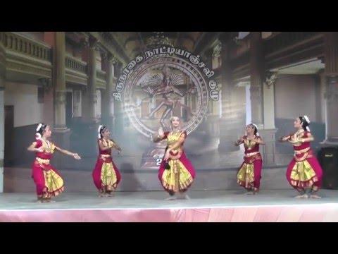 Madurai  R.Muralidharan & Smt.Chitra Muralidharan Students | Thirunagai Natyanjali Festival 2016