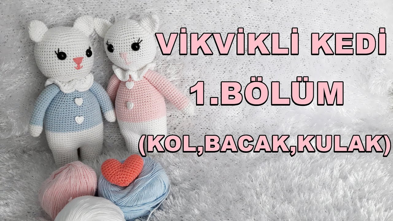 Amigurumi Erkek Tavşan Yapılışı- Amigurumi Crackers Bunny Free ... | 720x1280