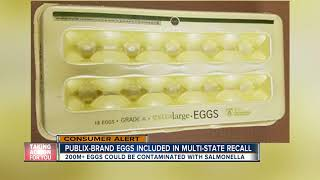 Publix 18-pack eggs added to massive egg recall due to possible Salmonella contamination