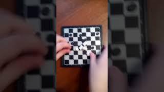 Обзор на магнитные компактные шашки от Тимура 08 03 2018