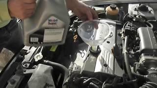 Motor Temizleme Katkısı İle Yağ Değişimi Öncesi Motor İçi Temizliği Yapıyoruz