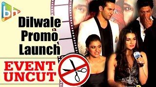 Dilwale First Look Promo Launch | Shah Rukh | Kajol | Varun Dhawan | Kriti | Event Uncut