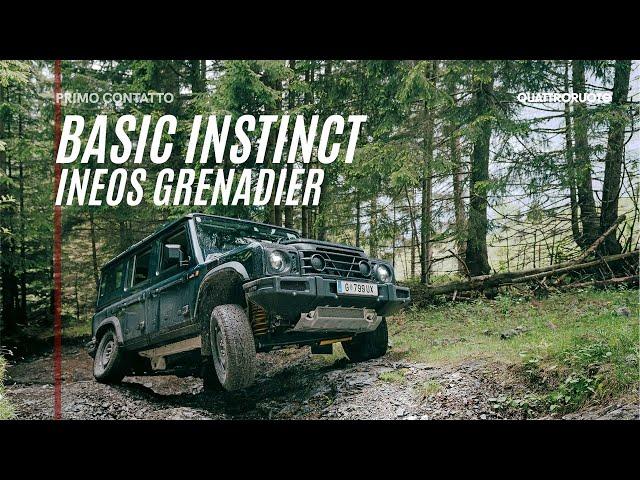 Ineos Grenadier: senza compromessi verso la meta