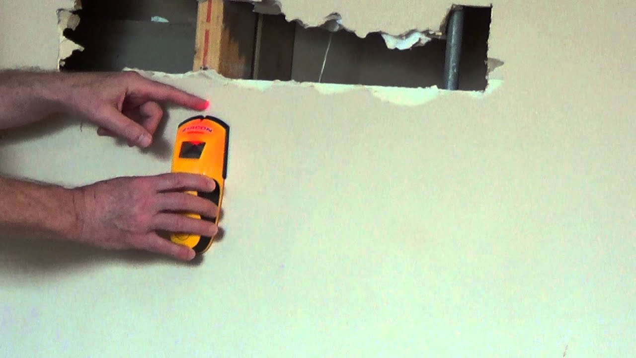 DIY How to Use a Stud Finder - YouTube