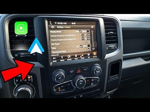 Ram 1500 [13-17] - Radio Upgrade - Uconnect 4C - Android Auto/Carplay!