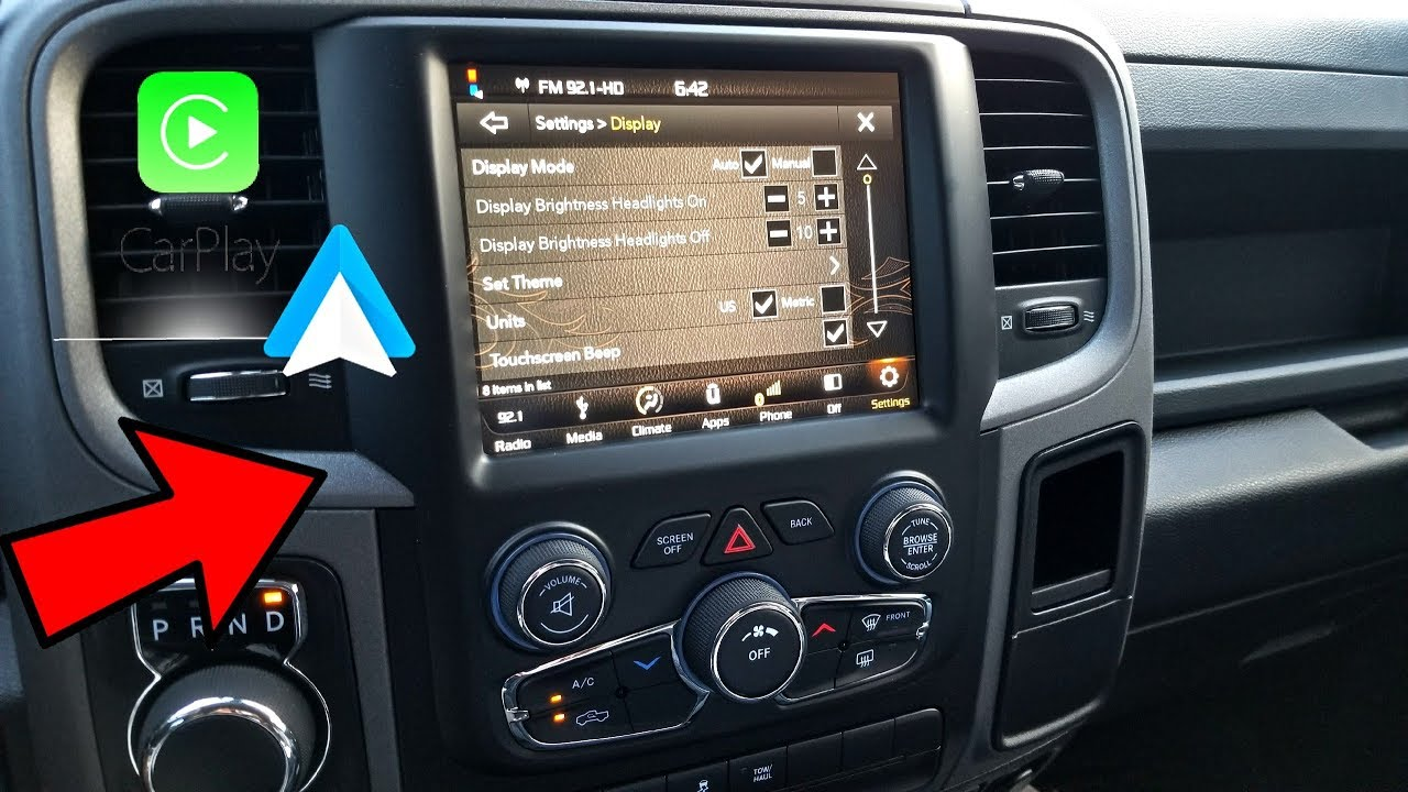 Ram 1500 [13-17] - Radio Upgrade - Uconnect 4C - Android Auto/Carplay!