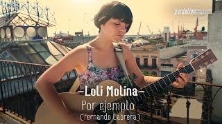 Loli Molina - Por ejemplo (Fernando Cabrera) (Live on PardelionMusic.tv) thumbnail