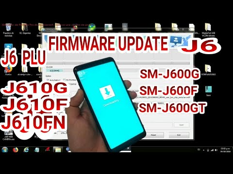 FIRMWARE SOFTWARE SAMSUNG J6 SM-J600G J610G PLUS J600F J600GT UPDATE  SOFTWARE SAMSUNG J6 ROM 8 0