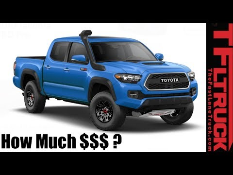 2019 Toyota Tacoma: We Configure Least/Most Expensive TRD Pro!