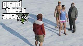 GTA 5 Online Vacation to North Yankton, Delirious