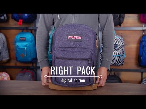 JanSport Pack Review: Right Pack Digital Edition
