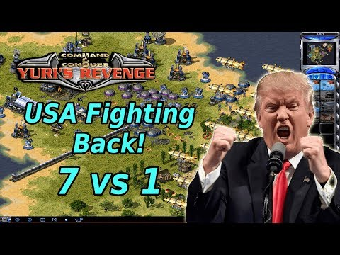 Red Alert 2 - United States Revenge - 7 vs 1