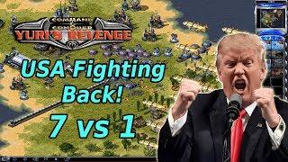 Red Alert 2 - United States Revenge - 7 vs 1