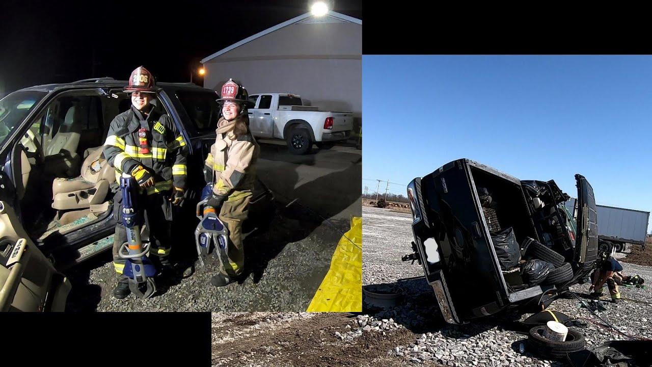 Extrication & Cooperation.  Cross Training Days.