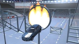 Car Jump Arena - Part 7 (Freestyle Stadium) | BeamNG.drive