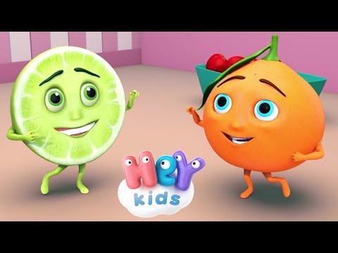 HeyKids – Naranja Dulce Limn Partido  Cancion Infantil + karaoke