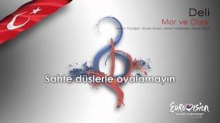 "Mor ve Ötesi - ""Deli"" (Turkey) - [Karaoke version]"