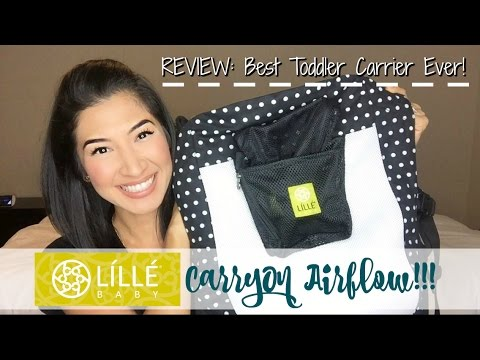 Best Toddler Carrier Ever Lillebaby Carryon Airflow Review