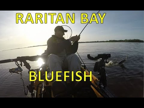 Raritan Bay Keyport Bluefish Fishing
