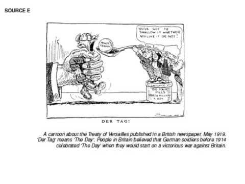 AP European DBQ Treaty of Versailles