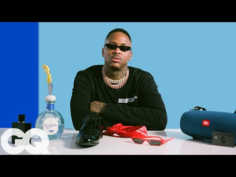 10 Things YG Can't Live Without | GQ