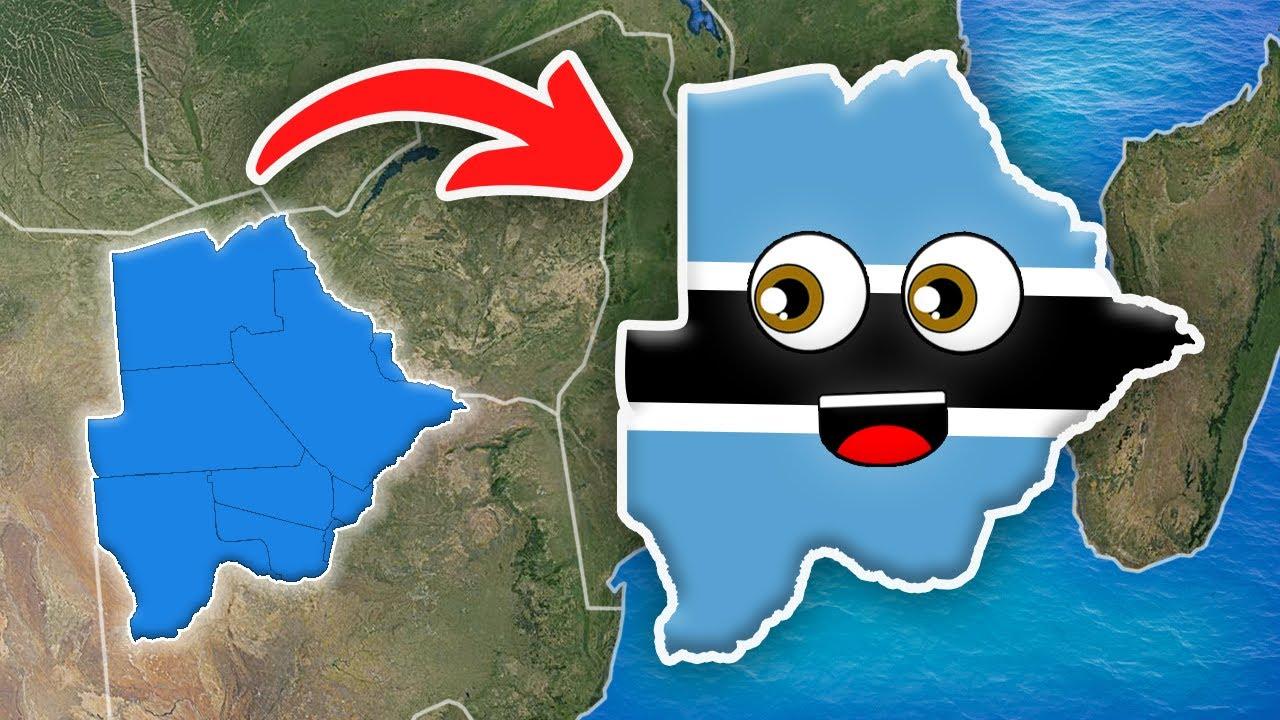Botswana Geography for Kids