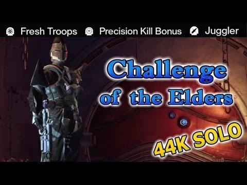 Destiny - Challenge of the Elders 44K SOLO (Week 6)
