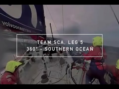 Experience the Southern Ocean in 360 with Team SCA