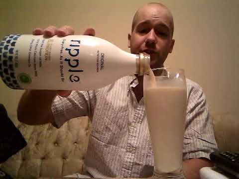 Woke Warrior Juice Review #3: Ripple Nutritious Pea Milk