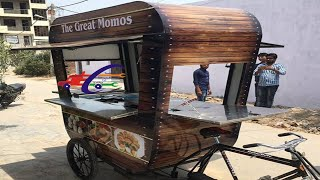 Momo's Cart made by SAI STRUCTURES INDIA#FOOD CARTS MANUFACTURER IN DELHI#ELECTRIC FOOD CARTS@DELHI