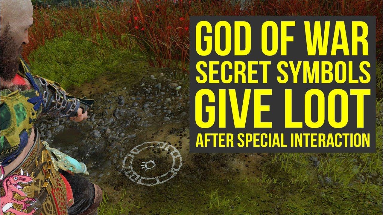 God Of War Secrets Special Symbols Give Loot After Special