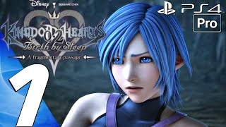 Kingdom Hearts 2.8 HD - English Walkthrough Part 1 - Full Game (PS4 PRO) A Fragmentary Passage BBS
