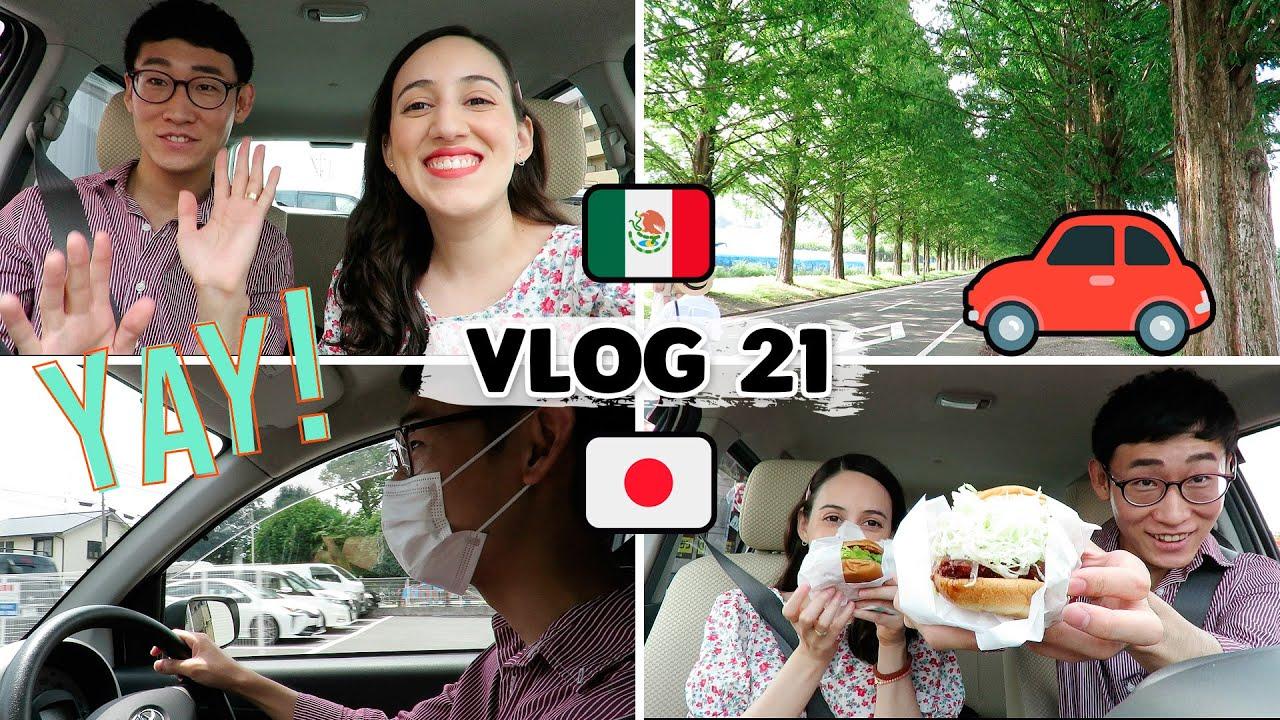 😁 RENTAMOS UN COCHE Y ESTO PASÓ... VIAJE POR CARRETERA EN JAPÓN 🚗 | Tania&Hayato