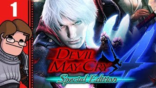 Let's Play Devil May Cry 4: Special Edition Part 1 - Birds of a Feather (Nero/Dante Devil Hunter)